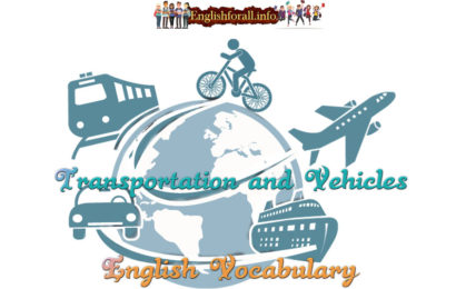Transportation and Vehicles