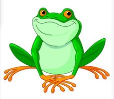 Frog in English