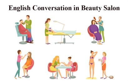 English Conversation in Beauty Salon