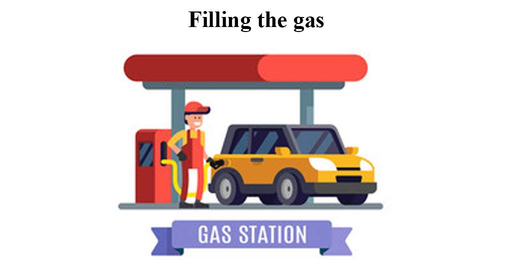 Filling the gas English Conversation