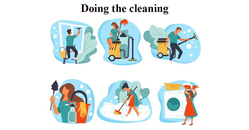 Conversation about Cleaning the House