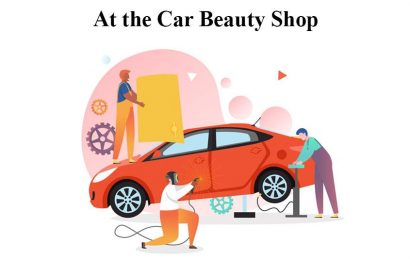 English Conversation At the Car Beauty Shop