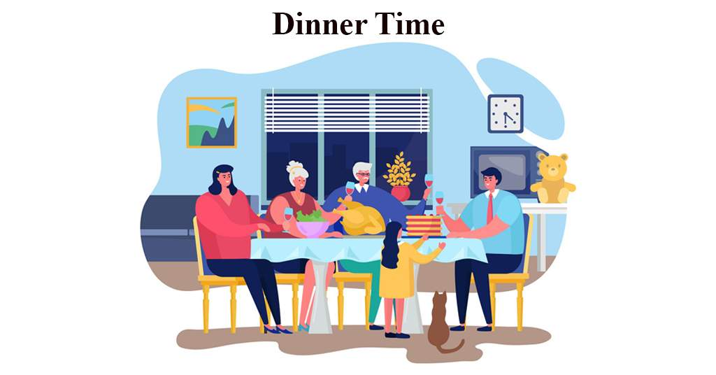 English Conversation about Dinner