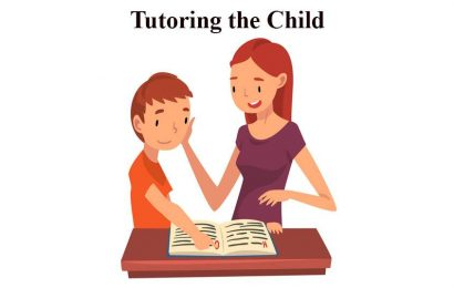 English Conversation about Tutoring the Child