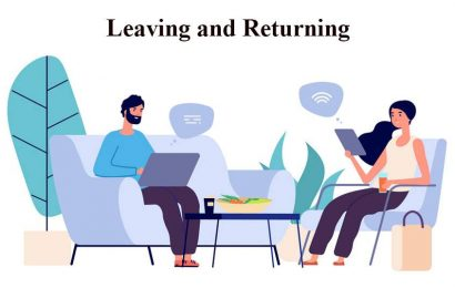 Leaving and returning