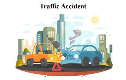 Traffic Accident Conversation in English