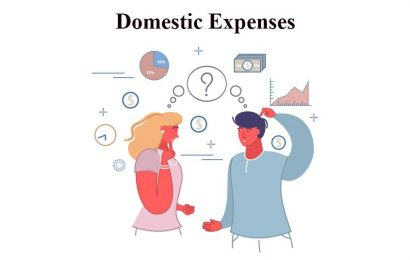English Conversation about Domestic Expenses