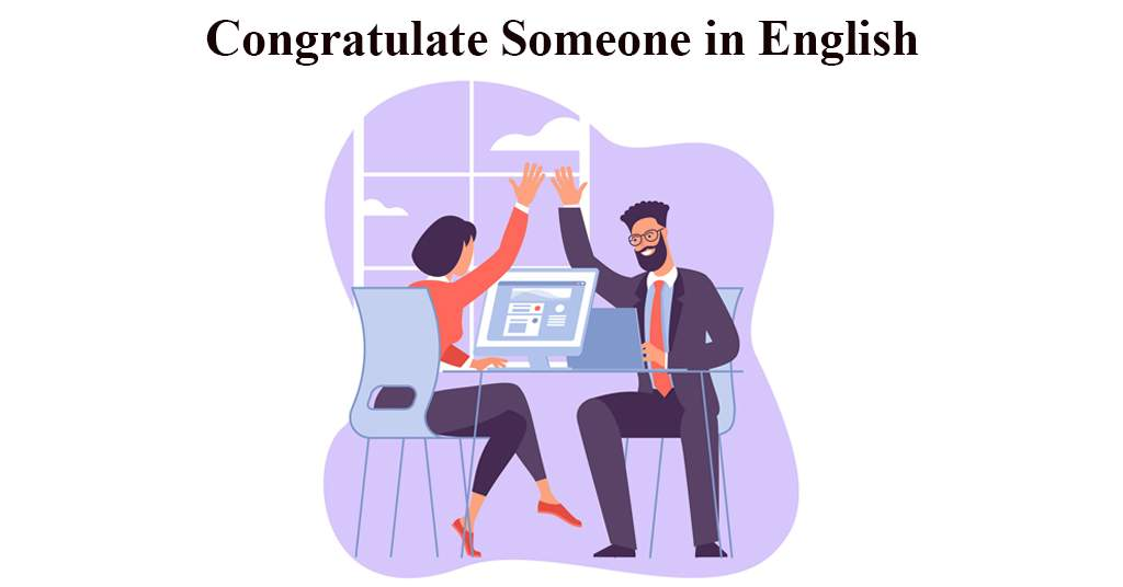 How to say Congratulations