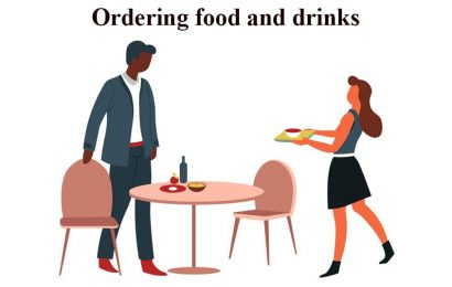 Ordering Food and Drinks Dialogue