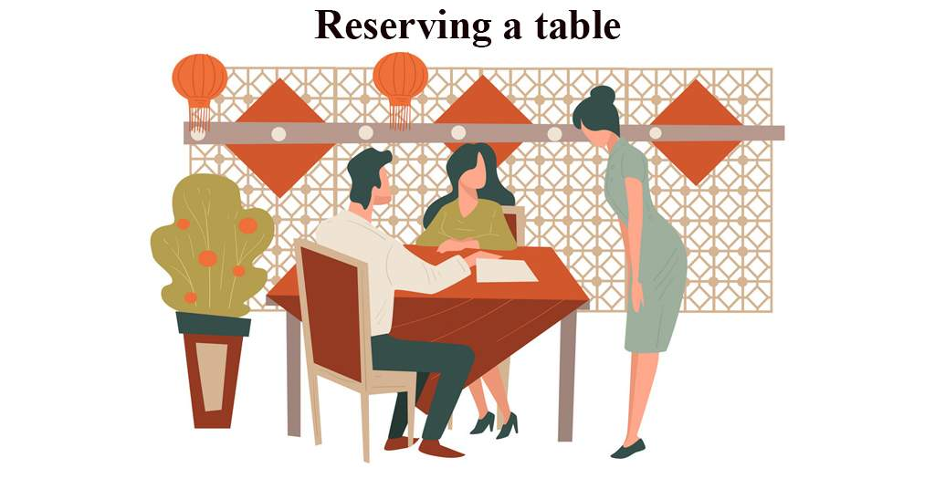 Service at The Table English Conversation